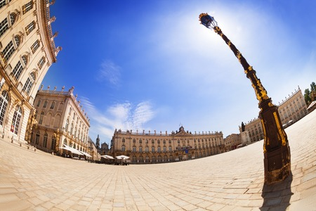 Square of Place Stanislas in Nancy, France