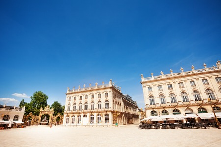 Place Stanislas in Nancy on sunny day, France