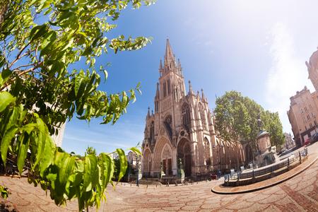 Basilique Saint-Epvre and town square, Nancy