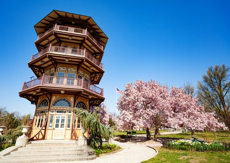 Pagoda Observatory in Patterson park, Baltimore, USA
