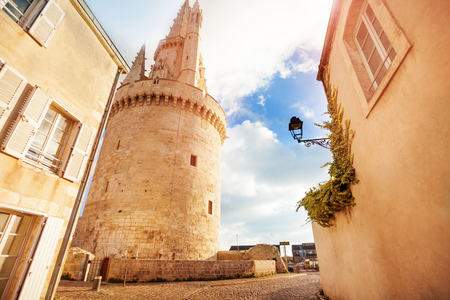 Tower of the Lantern, La Rochelle, France Stock Photo