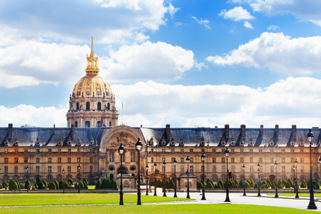 Invalides building and square in Paris, France Reklamní fotografie - 117618245