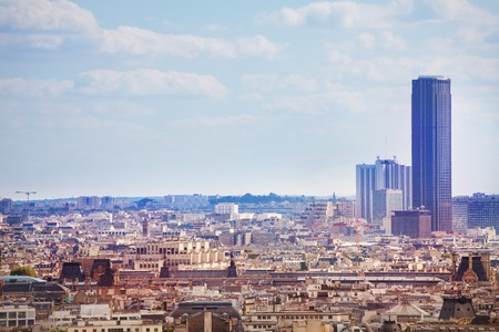 View of the Paris Montparnasse district and tower Stock fotó