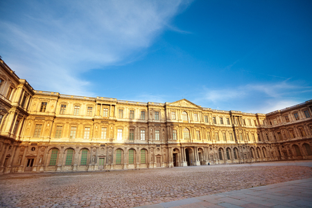 Palace of Versailles with royal apartments, France 写真素材