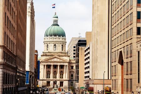 Indiana Statehouse building, Indianapolis, USA Stock Photo