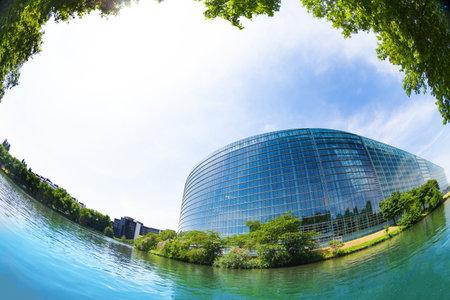 MAY 05, 2019: European Parliament building Editorial