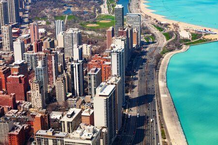 Chicago, Concrete beach on Michigan and i41