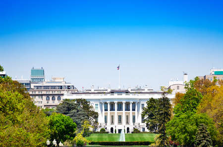 White House is the official residence and workplace of the president of the United States view from Ellipse road