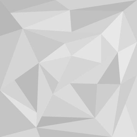 Abstract background of light and gray triangles. Flat style, geometric shapes