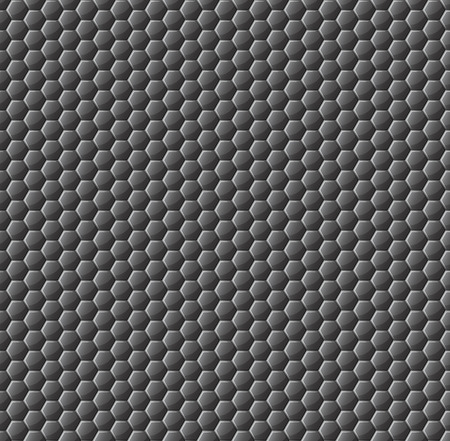 neatness: The pattern of the glossy honeycomb is of a dark color. Glass honeycombs. Background for your project. Vector illustration. EPS 10 Illustration