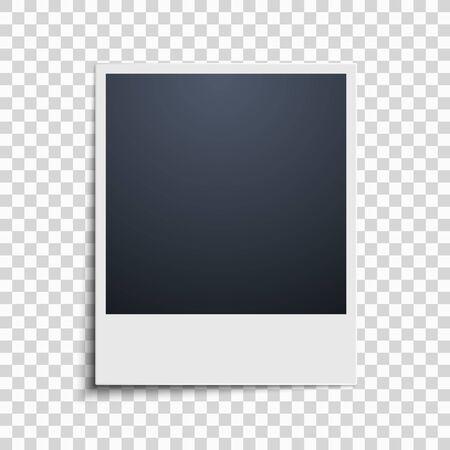 Immagine su uno sfondo trasparente. Cornice. Illustrazione vettoriale