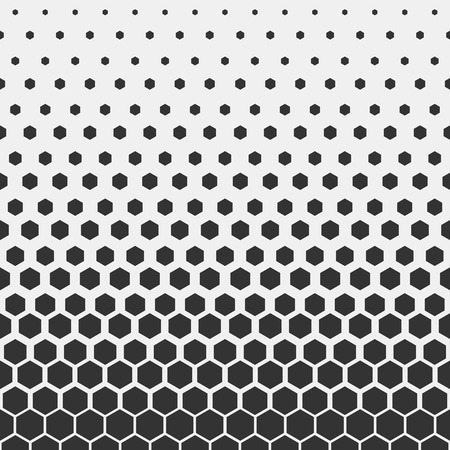 Geometric pattern. Hipster fashion design print hexagonal pattern. Black honeycombs on a light background. Vector Illustration.
