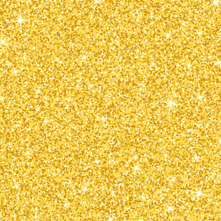 Luxury background of gold glitters. Gold dust sparkle. Gold texture for your design. Small golden confetti. The golden glow. Vector illustration