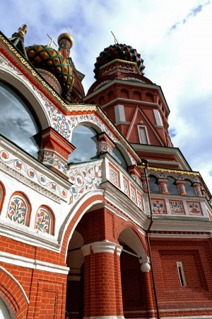 A St  Basil s Cathedral in the Moscow