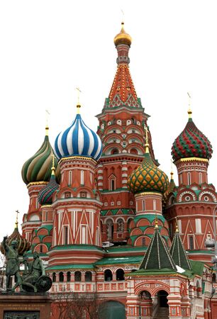 st basil s cathedral: A St  Basil s Cathedral in the Moscow