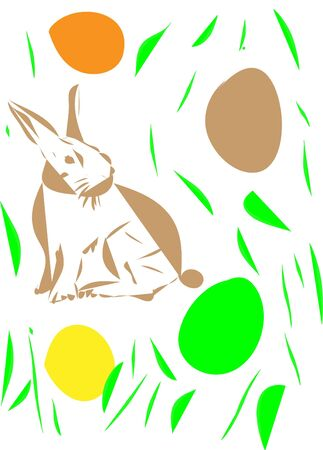 easter rabbit  Stock Vector - 17644025