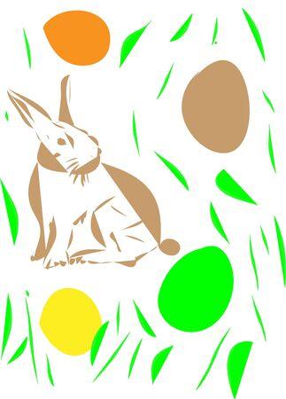 easter rabbit Stock Vector - 17644025