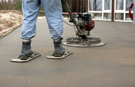 concreting: concreting the floor