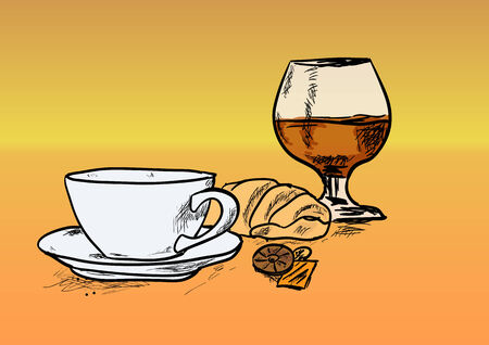 cognac: coffee and cognac