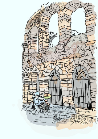 Verona Illustration