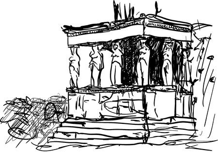 acropolis: acropolis Illustration