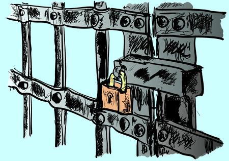 prison Illusztráció