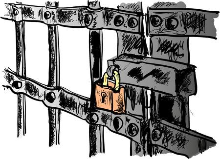prison Иллюстрация