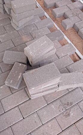 paving: paving block Stock Photo
