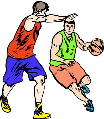 floodlit: basketball