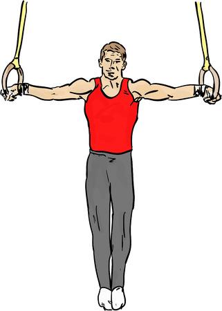 individual sports: gymnastics