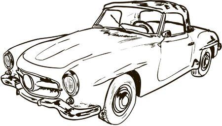 old car: old car