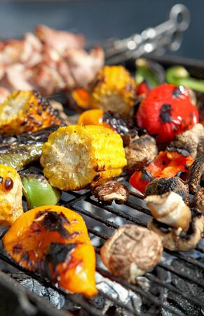 grill: grill vegetable Stock Photo