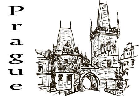 Ancient building Illustration