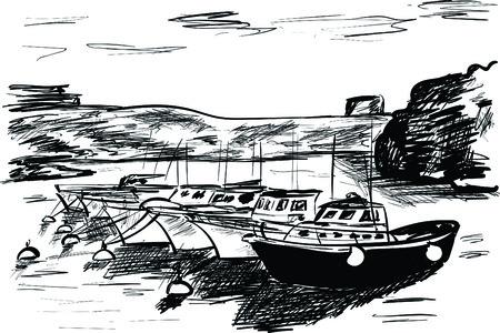 canary islands Ilustração