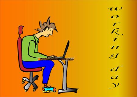 working day Stock fotó - 119459256