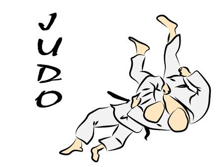 Judo Vektorgrafik