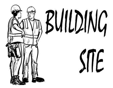 building site Ilustracje wektorowe