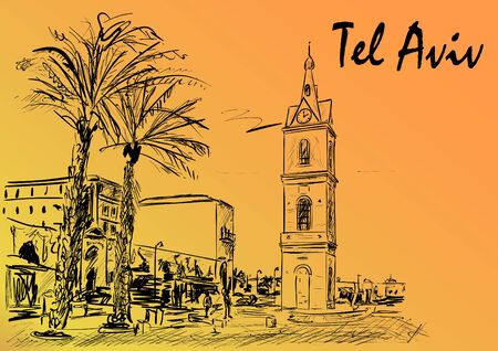 Tel aviv Stock fotó - 132072629