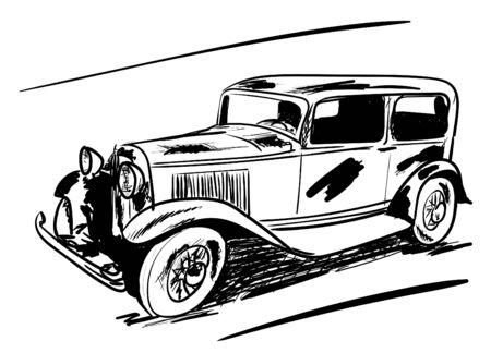 old car Stock fotó - 132072388