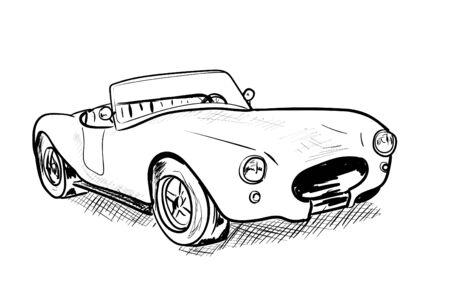 old car Stock fotó - 132053605