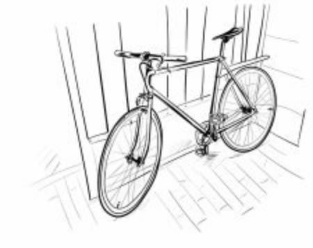 the bicycle Stock fotó - 137921711