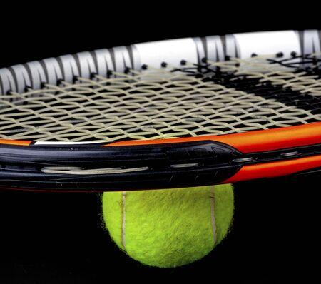 tennis racket and ball Stock fotó - 137921006