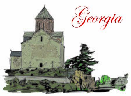 Georgia Stock fotó - 138515531