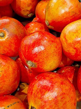 a big pomegranates in the market Stock fotó