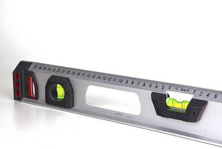 Level tool isolated on white Stock fotó