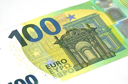 euro banknotes background Stock fotó