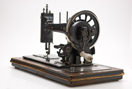 Old sewing machine Stock Photo - 7842839