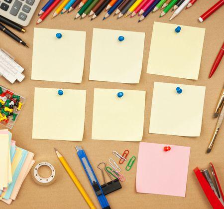 calendario escolar: calendario de clases a la semana en la escuela  Foto de archivo