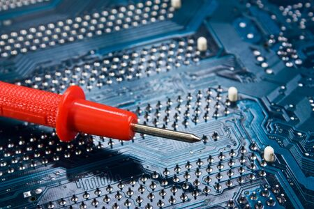 dipstick on the electronic board photo