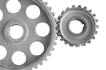 gears isolated on a white background  photo